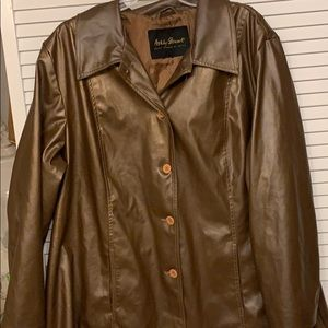 Ashley Stewart faux leather jacket